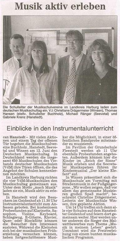 Harburger Rundschau 03.06.1999