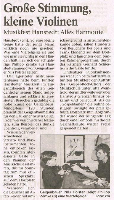 Harburger Anzeigen und Nachrichten 04.07.2000