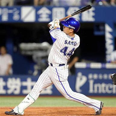 佐野 恵太選手 背番号44