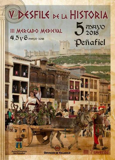 Programa del Mercado Medieval en Peñafiel