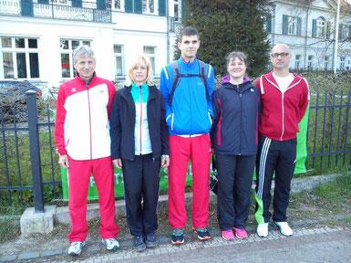 Egbert - Siiri - Florian - Birgit - Heiko