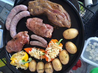Grillplatte Grillstein Rockcrock Pampered Chef