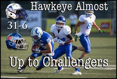 Challengers (31) - (6) Hawkeye