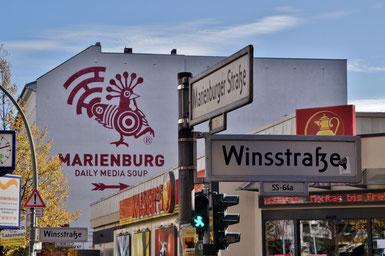Winsstraße Ecke Marienburger Straße