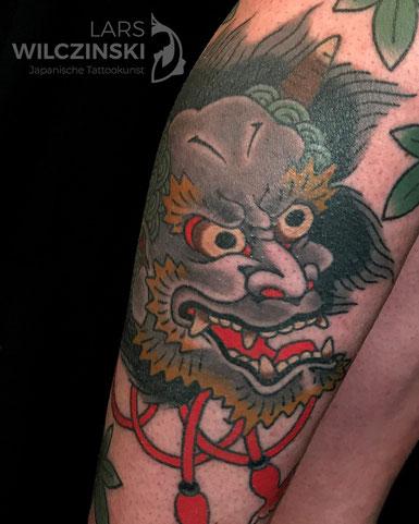 Lars Wilczinski, Tattookünstler, Tattoo-Atelier Berlin, Oni, Tattookunst, Japanische Tattoos, Japanese Tattoo, Japantattoo Motiv