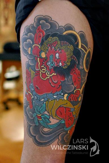 Lars Wilczinski, Tattookünstler, Tattoo-Atelier Berlin, raijin Tattookunst, Japanische Tattoos, Japanese Tattoo, Japantattoo Motiv