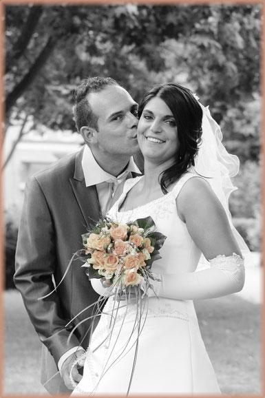 Hochzeit 2010 an der Kirche