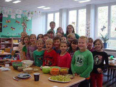 Obst und Gemüse machen Schule, September  2013