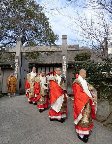 3月4日(2013) お練り行列(深大寺・厄除元三大師大祭)