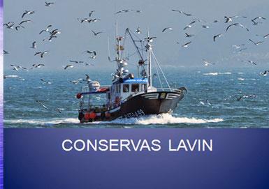 Logo de Conservas Lavin