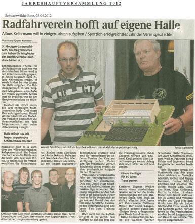 Schwarzwälder Bote 03.04.2012 (Anklicken zum Vergrößern)