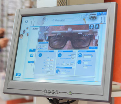 Augenmesssystem Eyecode von Visioffice