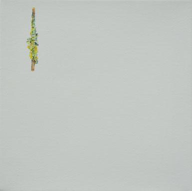 o.T., 25x25cm, Öl auf Leinwand, 2017
