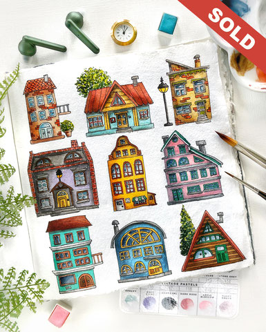 """Little Houses"" CHF 219.00"