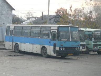 Междугородный автобус Ikarus 256.74. Рязань. 23.10.2008