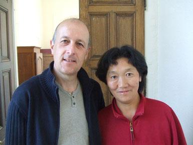 フランス人とチベット人のご夫婦