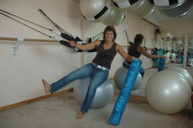 gym pilates et gym ballon