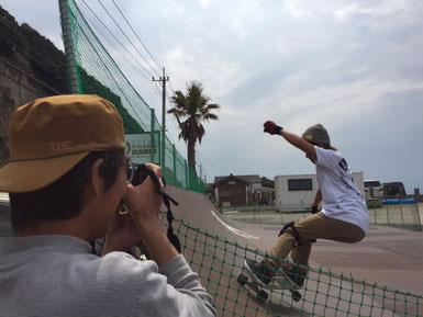撮影の撮影