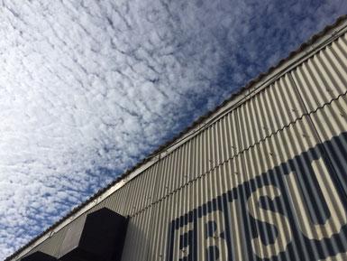 ウロコ雲。
