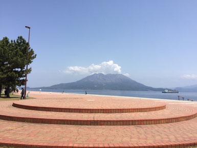 櫻島も噴火してました。
