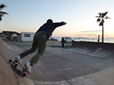 Sunset time SK8