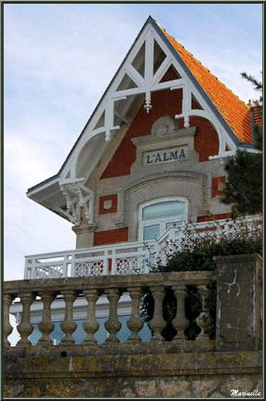 """La villa """"L'Alma"""" en """"Ville de Printemps"""" à Arcachon"""