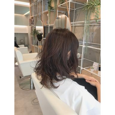 横浜・石川町、美容室Grantus,ヘアスタイル、ロング、ゆるふわ、パーマ