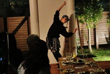 MAHOさんダンス