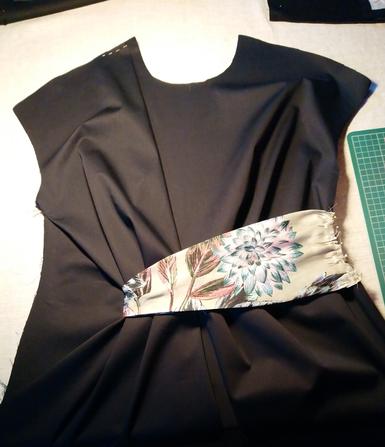 """Vorderteil """"Dress for Success"""" aus Burdastyle 8/2017, Mod. 119 © GriseldaK 2019"""