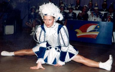 Tanzmariechen Nadine Gellner