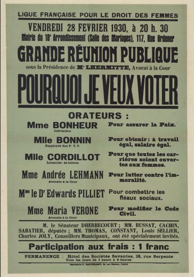 © Ville de Paris / Bibliothèque Marguerite Durand
