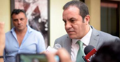 Convoca Cuauhtémoc Blanco a diputados a que aprueben paquete económico 2019