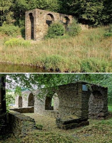 Das Kahnhebehaus Halsbrücke bei Freiberg