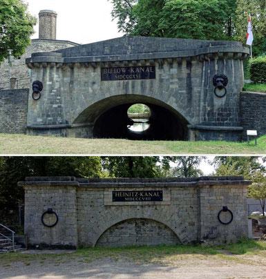 Bülowportal und Heinitzportal im Museumspark Rüdersdorf