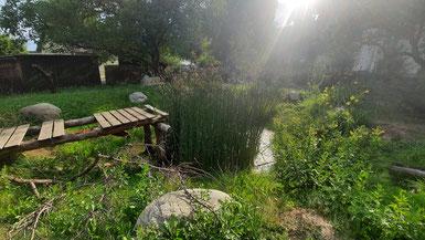 Offene kommunizierende Wasserflächen sind ein wesentlicher Bestandteil der Wildniskultur.