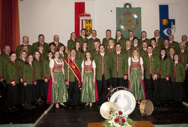 Musikkapelle Kirchschlag bei Linz, Partnergemeinde der Blaskapelle Meeder