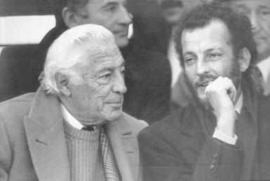 Gianni Agnelli con il figlio Edoardo