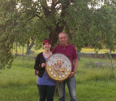 Siegerpaar 2014 Annette Betz und Günther Backer