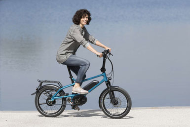 Sehen Sie sich den Unterschied zwischen Falt- und Kompaktrad im Shop in Herdecke an