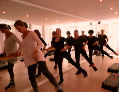 Gruppentraining Fitness Miriam Schwald Port de Andratx