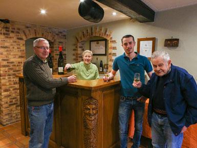 La famille vigneronne Mochel - Lorentz