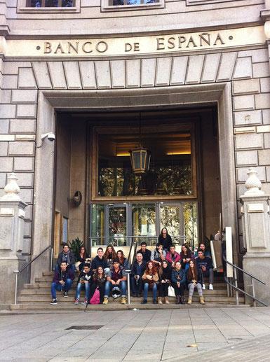 visita Banc Espanya 1r batxillerat optativa economia
