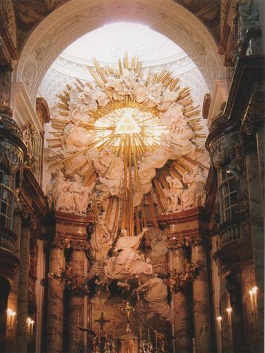 Wenen Karlskirche - JHWH, de Onbenoembare Naam van GOD