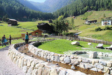 Percorso Kneipp  - Val di Valorz - Foto D.Andreis