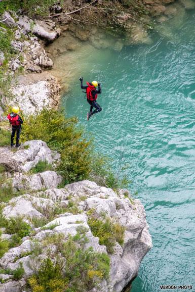 Canyoning alpes de haute provence, canyoning verdon, canyoning castellane, canyoning sainte croix