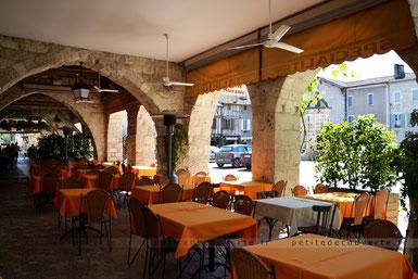 Arches d'Eymet en Dordogne