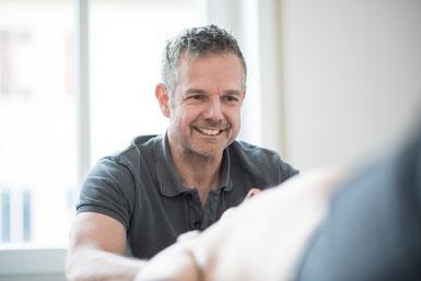 Dieter Schreiner: Vollständig ausgebildeter Osteopath