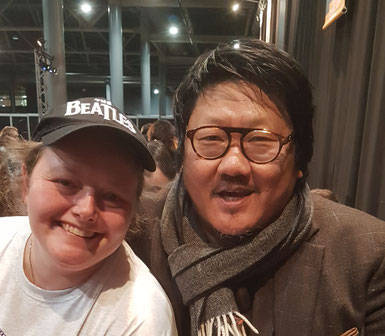 Selfie with Benedict Wong
