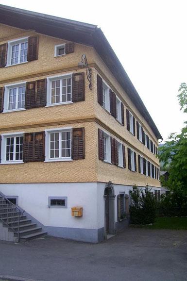 Greussing, Fasseadenaktion, Fassadenaktion Bregenzerwald