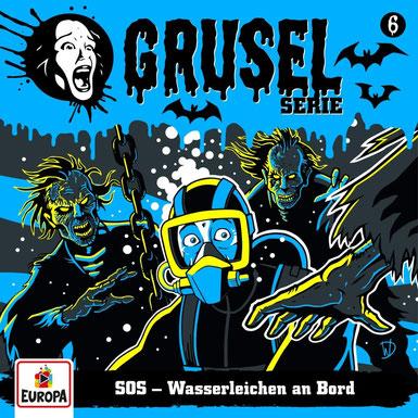 Cover Gruselserie: SOS - Wasserleichen an Bord